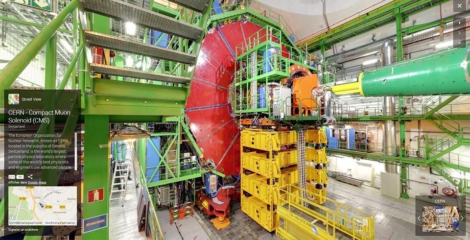 Street View CERN